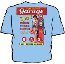 Full Service Garage Navy Work Shirt