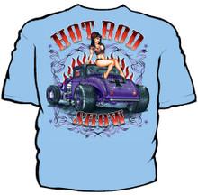 Hot Rod Show Navy Work Shirt
