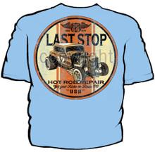 Last Stop Hot Rod Navy Work Shirt