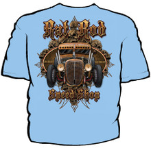 Rat Rod Speed Shop Navy Work Shirt
