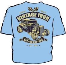 Vintage Iron Navy Work Shirt