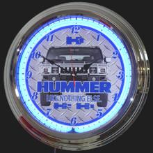 Hummer Hi, H2, H3  Neon Clock
