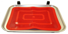 Car Hop Tray Including Red Tray Mat