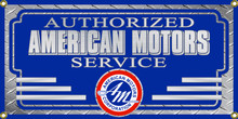 American Motors Authorized Service Wall Banner