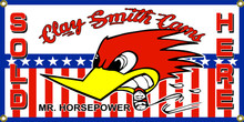 Clay Smith Cams, Mr. Horse Power Wall Banner