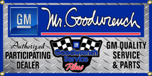 Mr. Goodwrench Service Wall Banner