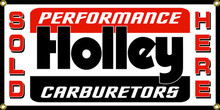 Holley Performance Carburetors Wall Banner