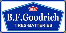 BF Goodrich Tires Wall Banner