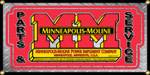 Minneapolis Moline Wall Banner