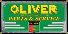 Oliver Tractor Wall Banner