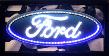 Ford Oval Logo LED Sign