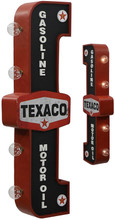 Texaco Off The Wall Lighted Sign