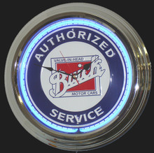 Buick Service Classic Neon Clock