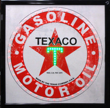 Texaco Gasoline LED Sign