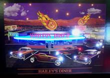 Haileys Diner Neon & LED Print