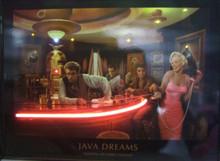 Java Dreams Neon & LED Print
