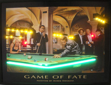 Game Of Fate Neon & LED Print