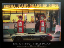 Destiny Highway Neon & LED Print