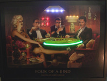 Four Of A Kind Neon & LED Print