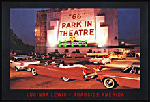 66 Park In Theater LED Print