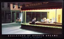 Boulevard Of Broken Dreams LED Print