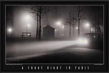 """A Foggy Night In Paris """"Brassai"""" LED Print"""