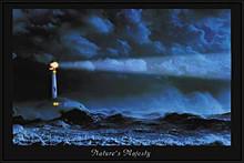 Natures Majesty Lighthouse LED Print