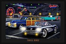 Thrill Rides LED Print