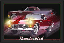 Thunderbird Classic Ride LED Print