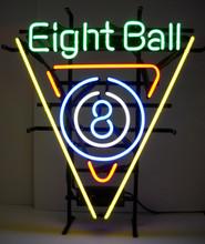 Eight Ball Rack Neon Sign