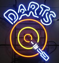 Darts Game Room Neon Sign