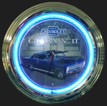 Chevrolet Nova 66-67 Neon Clock