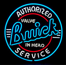 Buick Authorized Service Neon Sign