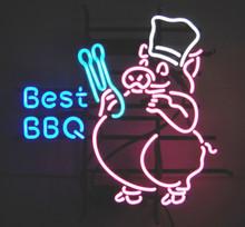 Best Bar-B-Q Neon Sign