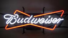 Budweiser Bowtie Logo Neon Sign