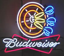 Budweiser Darts Neon Sign