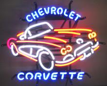 Chevrolet Corvette C1Car  Neon Sign