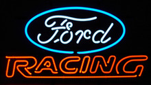 Ford Racing Logo Neon Sign