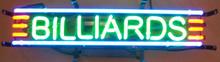 Billards Room Neon Sign