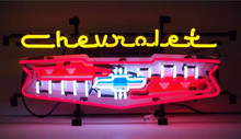 Chevrolet Grill Logo Neon Sign
