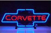Chevrolet Bowtie Logo Neon Sign
