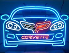 Chevrolet Corvette C6 Car Neon Sign