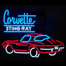 Corvette Stringray Car Neon Sign