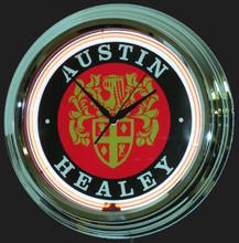 Austin Healey Neon Clock