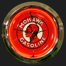 Mohawk Gas Neon Clock