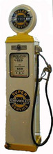 Chevrolet Super Service 1950's Full Size Erie Gas Pump