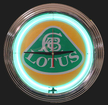 Lotus Neon Clock