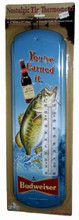 Budweiser Fishing Thermometer