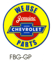 Chevrolet Genuine Parts Floor Graphic