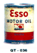 Esso Unifie  Motor Oil Cans - Quantity Of Six Cans